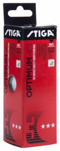 Stiga Optimum 40+ *** White 3 Balls
