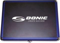 Donic Coffret en Aluminium Bleu
