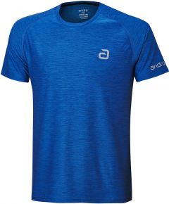 Andro T-Shirt Melange Alpha Bleu