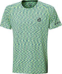 Andro T-Shirt Melange Multicolor Vert/Bleu Foncé