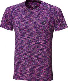 Andro T-Shirt Melange Multicolor Magenta/Bleu Foncé