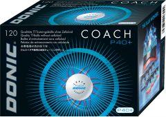 Donic 120 Balls Coach P40+ White **
