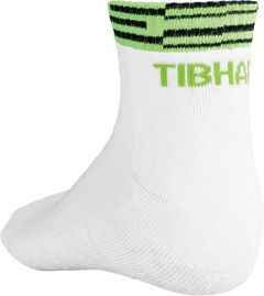 Tibhar Chaussettes Line Blanc/Vert