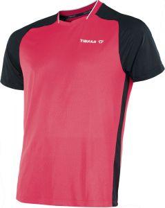 Tibhar TT-Shirt Pro Rouge/Noir
