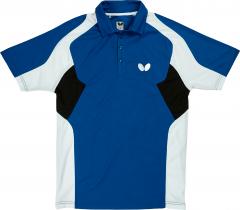 Butterfly Polo Shiro Bleu