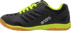 Andro Chaussures Cross Step Noir/Fluo Jaune