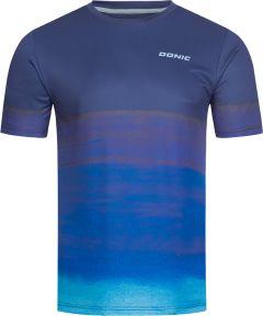 Donic T-Shirt Fade Marine/Bleu