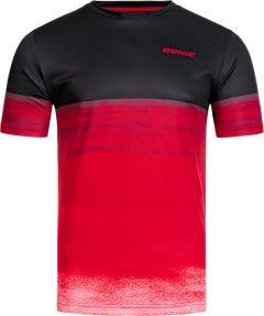 Donic T-Shirt Fade Noir/Rouge