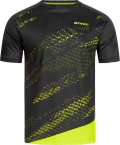 Donic T-Shirt Mirage Noir/Fluo Jaune