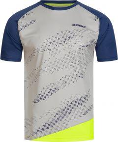 Donic T-Shirt Mirage Gris/Marine/Fluo Jaune