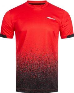 Donic T-Shirt Split Rouge/Noir