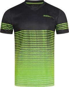 Donic T-Shirt Tropic Noir/Vert Citron