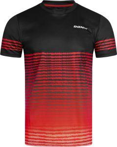 Donic T-Shirt Tropic Noir/Rouge