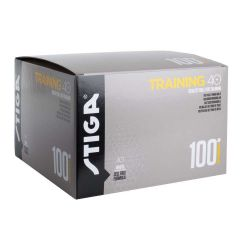 Stiga Training ABS 40+ 100 balles Blanc